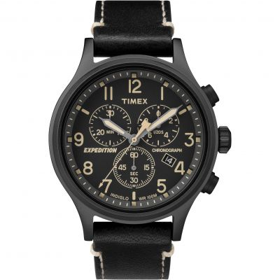 Timex Expedition Expedition Herrenchronograph in Schwarz TW4B09100