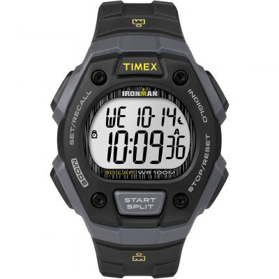 Timex Sports Ironman Herrenchronograph in Schwarz TW5M09500