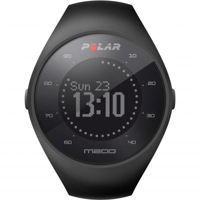 Polar M200 Bluetooth GPS Activity Tracker Heart Rate Monitor Unisexchronograaf Zwart 90061201