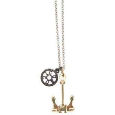 Mens Icon Brand Base metal Union Necklace P1173-N-MUL