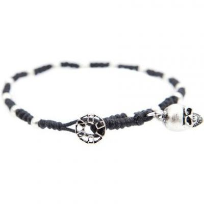 Mens Icon Brand Base metal Saint Saviour Rosary Bracelet LE1181-BR-BLK