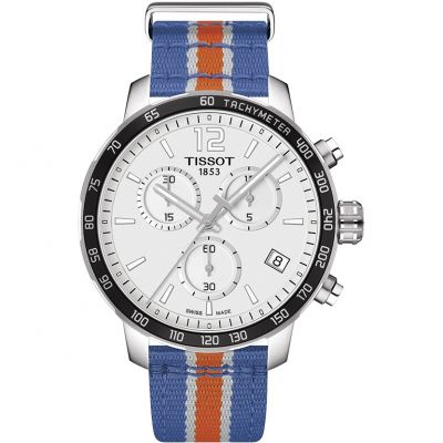 Montre Chronographe Homme Tissot Quickster NBA New York Knicks Special Edition T0954171703706