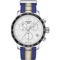 Mens Tissot Quickster NBA Golden State Warriors Special Edition Chronograph Watch T0954171703715