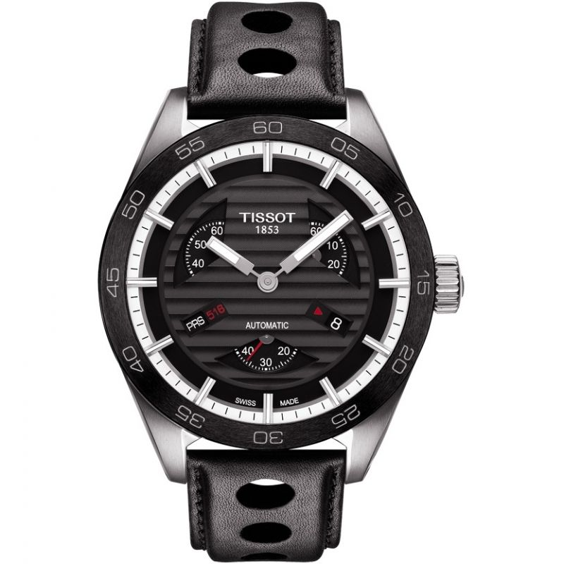 Mens Tissot PRS516 Small Second Automatic Watch