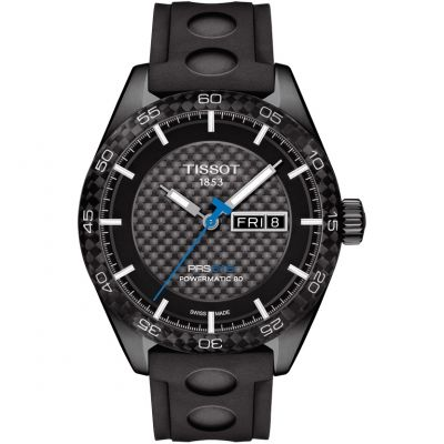 Tissot T-Sport PRS516 Powermatic 80 Herrenuhr in Schwarz T1004303720100