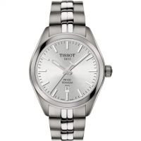 Ladies Tissot PR100 Titanium Watch T1012104403100