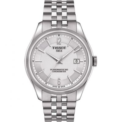 Mens Tissot Ballade COSC Powermatic 80 Silicon Balance Spring Watch T1084081103700