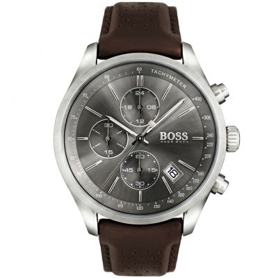 Hugo Boss Grand Prix Herenchronograaf Bruin 1513476