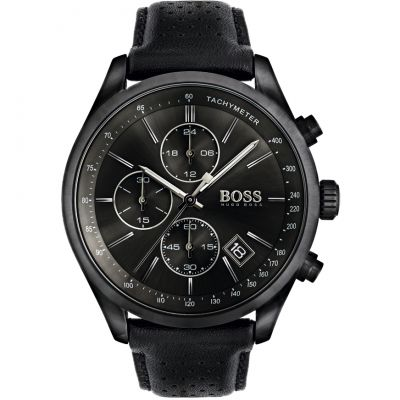 Hugo Boss Grand Prix Grand Prix Herrenchronograph in Schwarz 1513474
