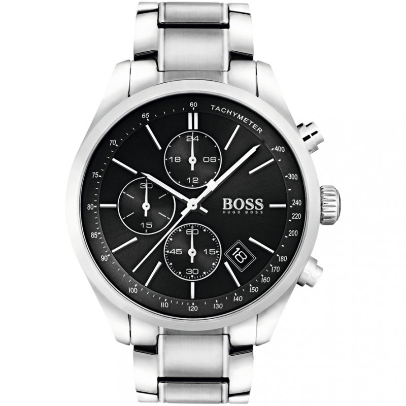 Mens Hugo Boss Grand Prix Chronograph Watch 1513477