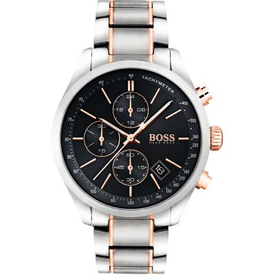 Hugo Boss Grand Prix Herenchronograaf Tweetonig 1513473