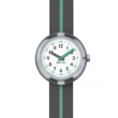 Childrens Flik Flak Green Band Watch FPNP022