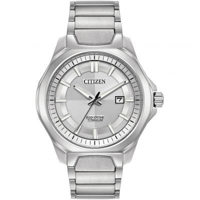 Citizen Herrenuhr in Silber AW1540-88A