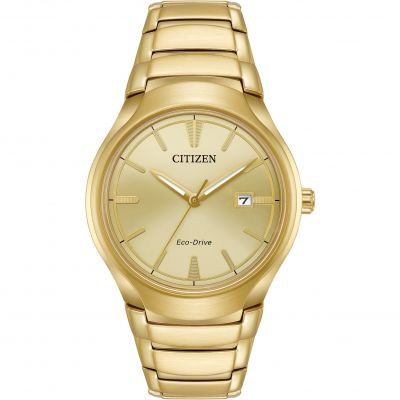 Citizen Herrenuhr in Gold AW1552-54P