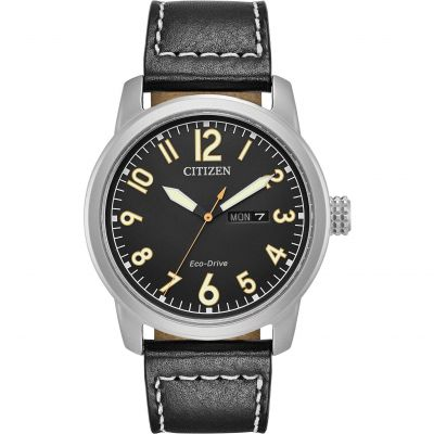 Citizen Herrenuhr in Schwarz BM8471-01E