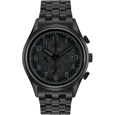 Citizen Herrenchronograph in Schwarz CA0625-55E