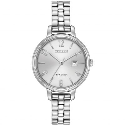 Citizen Silhouette Damenuhr in Silber EW2440-53A