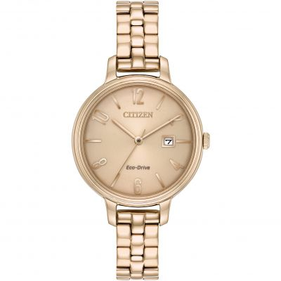 Citizen Silhouette Damenuhr in Rosa EW2443-55X
