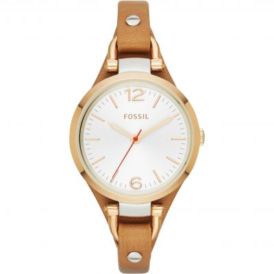 Ladies Fossil Georgia Cuff Watch ES3565