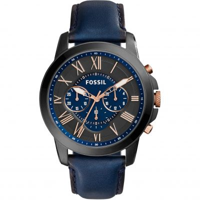 Mens Fossil Grant Chronograph Watch FS5061