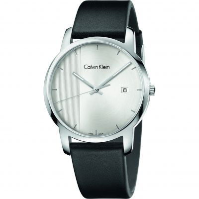 Calvin Klein City Herrenuhr in Schwarz K2G2G1CX