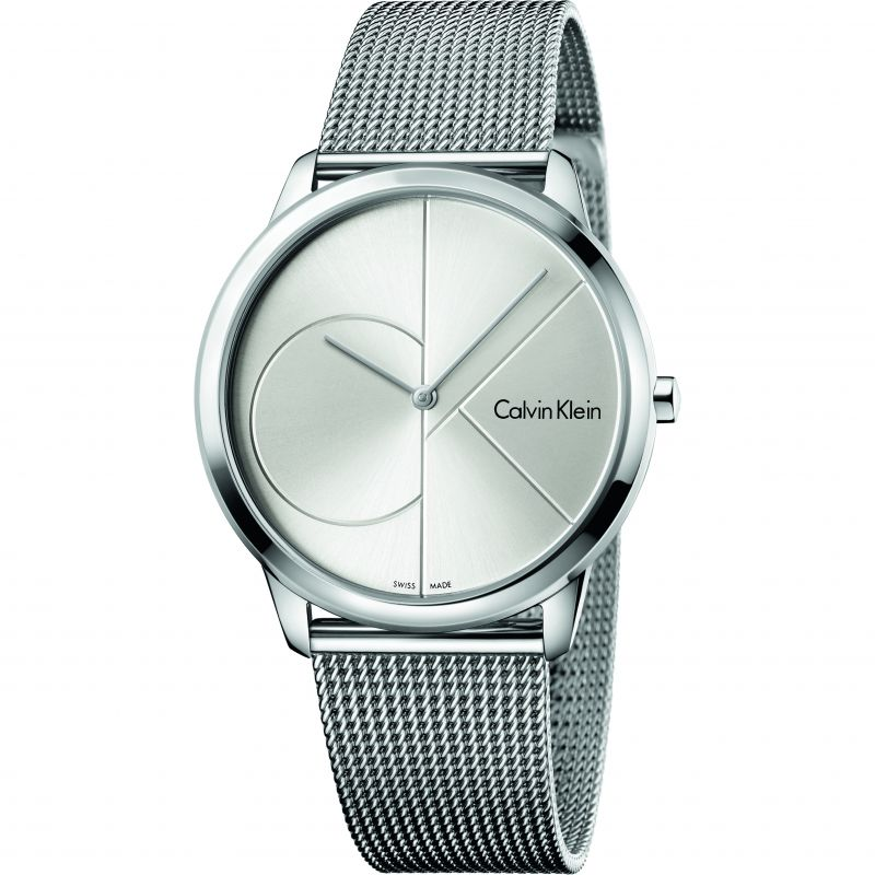 Unisex Calvin Klein Minimal 40mm Watch K3M2112Z