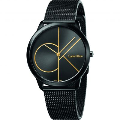 Unisex Calvin Klein Minimal 40mm Watch K3M214X1
