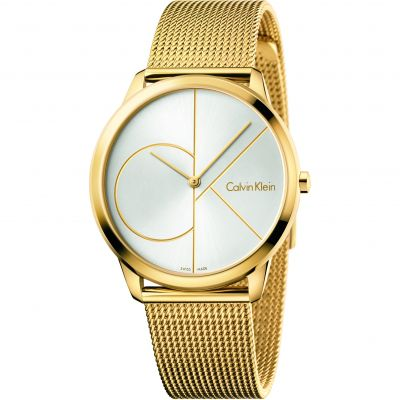 Unisex Calvin Klein Minimal 40mm Watch K3M21526