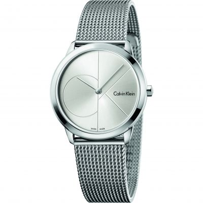 Unisex Calvin Klein Minimal 35mm Watch K3M2212Z