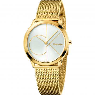 Unisex Calvin Klein Minimal 35mm Watch K3M22526