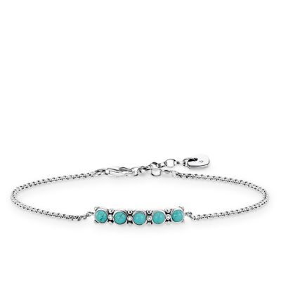 Damen Thomas Sabo Diamant Glam & Soul Diamond Armband Sterling-Silber A0015-357-17-L19V