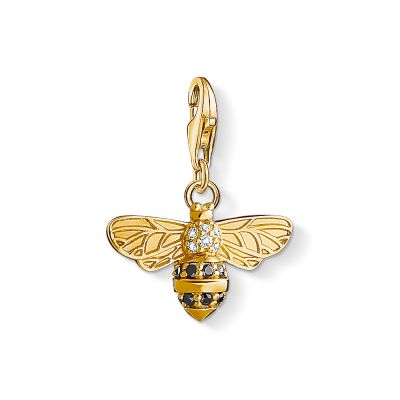 Ladies Thomas Sabo Sterling Silver Charm Club Bee Charm 1449-414-39