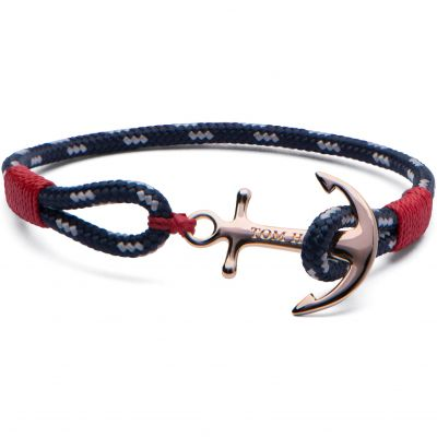 Joyería para Unisex Tom Hope Jewellery Pacific Red Bracelet Size M TM0082