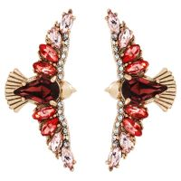 Juicy Couture Jewellery Fringe Forward Statement Earrings JEWEL