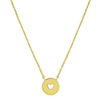 Juicy Couture Dam Take Heart Expressions Necklace Guldpläterad WJW86796-712