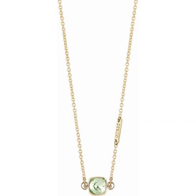 Ladies Guess Gold Plated Cote D Azur Necklace UBN83134