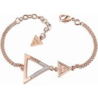 Ladies Guess Rose Gold Plated Iconic 3Angles Bracelet UBB83065-L