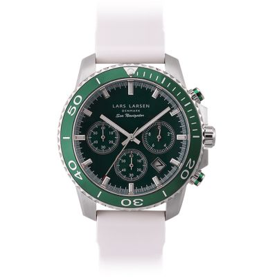 Mens Lars Larsen LW34 Chronograph Watch 134SBWS