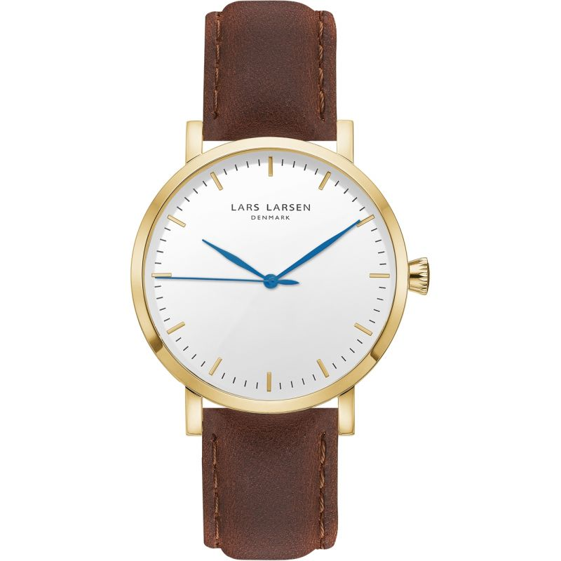 Mens Lars Larsen LW43 Watch 143GWBL