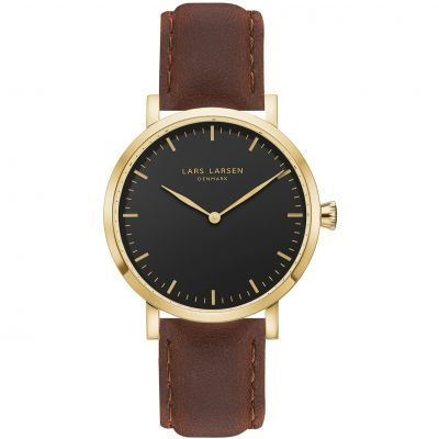 Mens Lars Larsen LW44 Watch 144GBBL