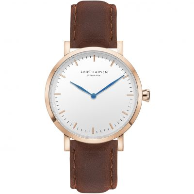 Mens Lars Larsen LW44 Watch 144RWBL