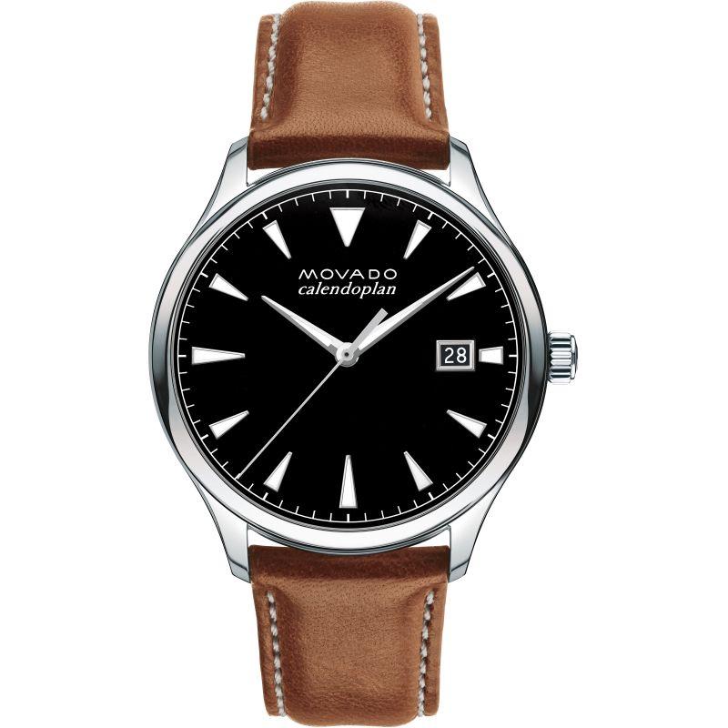 Mens Movado Heritage Series Calendoplan Watch