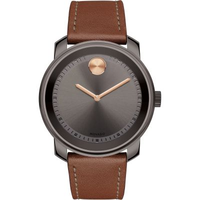 Movado Bold Bold Colorado Metals Herrenuhr in Braun 3600378