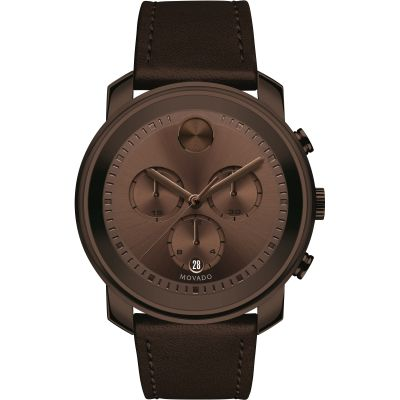 Mens Movado Bold Metals Chronograph Watch 3600420