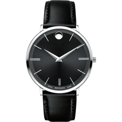 Mens Movado Ultra Slim Watch 0607086
