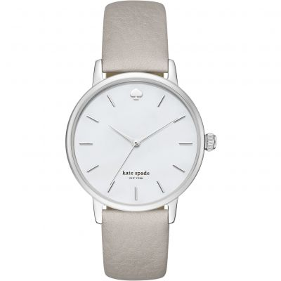 Kate Spade New York Metro Damenuhr in Grau KSW1141