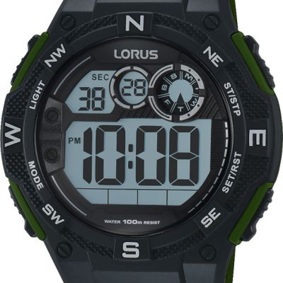 Mens Lorus Alarm Chronograph Watch R2321LX9