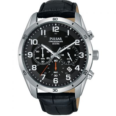 Mens Pulsar Chronograph Watch PT3833X1
