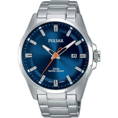 Pulsar Herrenuhr in Silber PS9505X1