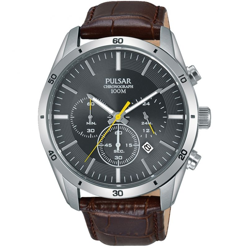 Mens Pulsar Chronograph Watch PT3837X1